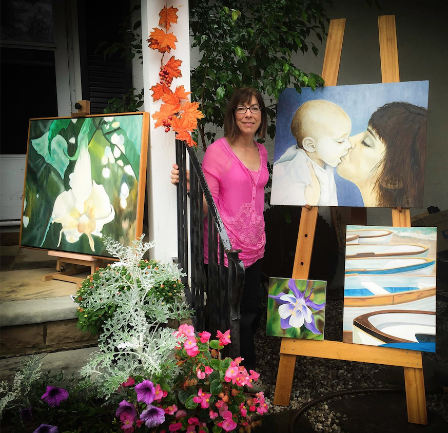 Christine Nelson, Painter and Mixed Media Artist